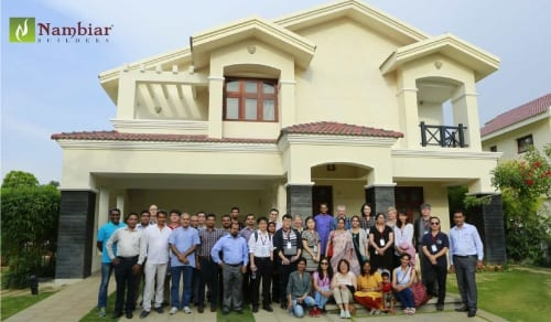 AsRES Delegates in Bellezea by Nambiar Builders