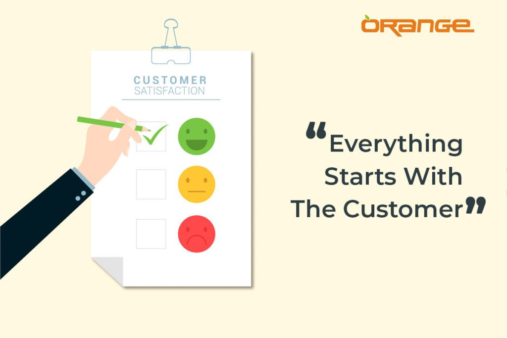 customer services and sales